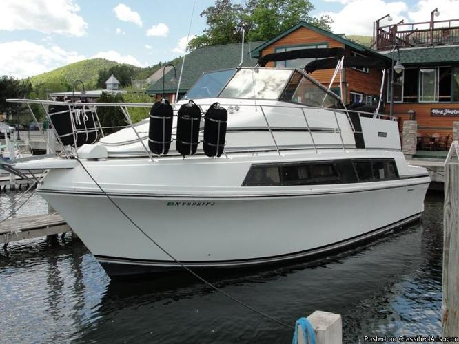 1986 Carver 32 Mariner For Sale In Assembly Point New