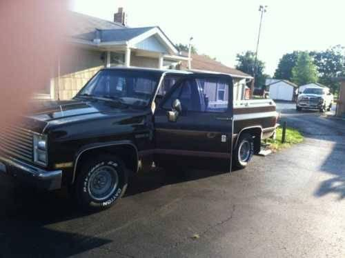 1986 chevrolet c10 classic truck in columbus oh for sale in columbus ohio classified. Black Bedroom Furniture Sets. Home Design Ideas