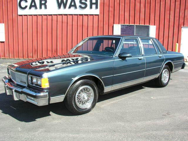 1986 chevrolet caprice classic brougham for sale in. Black Bedroom Furniture Sets. Home Design Ideas