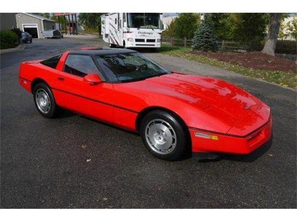 1986 chevrolet corvette for sale in lansing michigan classified. Black Bedroom Furniture Sets. Home Design Ideas