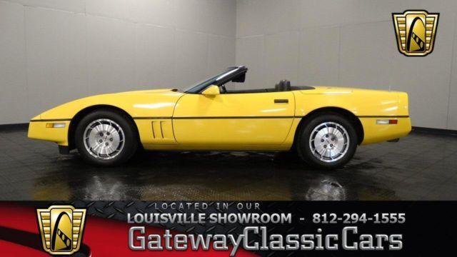 1986 Chevrolet Corvette Convertible 919LOU for Sale in
