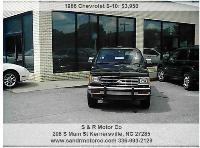 1986 chevrolet s10 for sale in guthrie north carolina classified. Black Bedroom Furniture Sets. Home Design Ideas