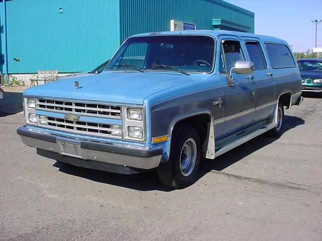 1986 chevrolet suburban for sale in pontiac michigan. Black Bedroom Furniture Sets. Home Design Ideas