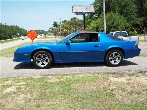 1986 chevy camaro 2 door z 28 for sale in longs south carolina classified. Black Bedroom Furniture Sets. Home Design Ideas