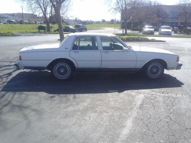 1986 chevy caprice classic for sale in vallejo california classified. Black Bedroom Furniture Sets. Home Design Ideas