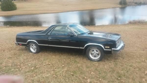 1986 chevy el camino for sale in fort smith arkansas classified. Black Bedroom Furniture Sets. Home Design Ideas