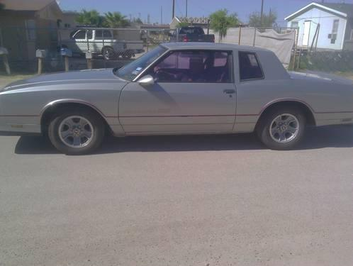 1986 chevy monte carlo ss silver auto 123k mi for. Black Bedroom Furniture Sets. Home Design Ideas