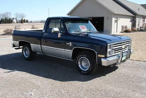 1986 chevy silverado pickup for sale in defiance ohio classified. Black Bedroom Furniture Sets. Home Design Ideas