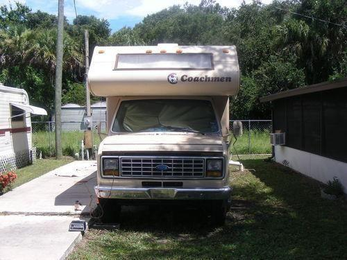 1986 Coachman Classic on a Ford Econoline 350 chassis, 83000 or