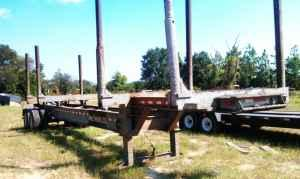 1986 Evans Log Trailer - $6000 (Jesup GA)