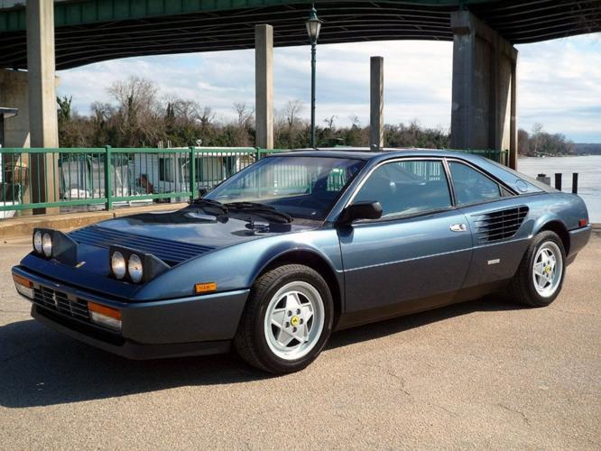 1986 ferrari mondial 3 2 coupe v8 dohc for sale in vancouver washington classified. Black Bedroom Furniture Sets. Home Design Ideas