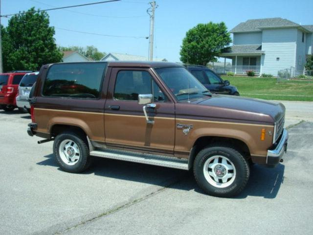 1986 ford bronco ii for sale in west branch iowa classified. Black Bedroom Furniture Sets. Home Design Ideas
