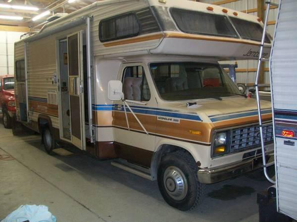 1986 Ford E350 Jamboree By Fleetwood Motor Home For Sale