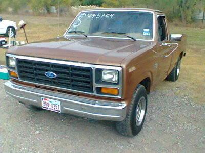 1986 ford f 150 xl standard cab pickup 2 door 4 9l for sale in eagle pass texas classified. Black Bedroom Furniture Sets. Home Design Ideas