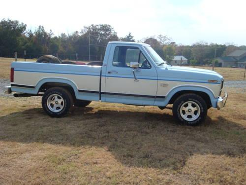 1986 ford f 150 xlt lariat clean for sale in albion arkansas classified. Black Bedroom Furniture Sets. Home Design Ideas
