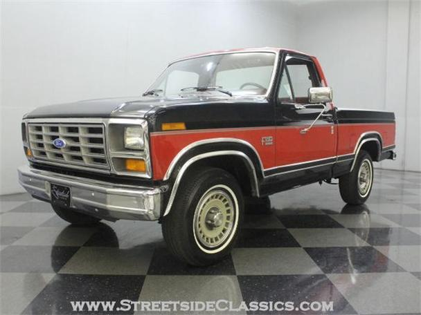 1986 ford f150 for sale in charlotte north carolina classified. Black Bedroom Furniture Sets. Home Design Ideas