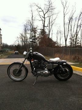 1986 Harley-Davidson Sportster Custom Bobber `Delivery Worldwide`