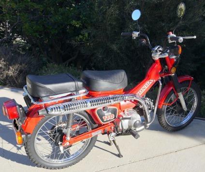 1986 Honda CT 110 Street legal  8 spd