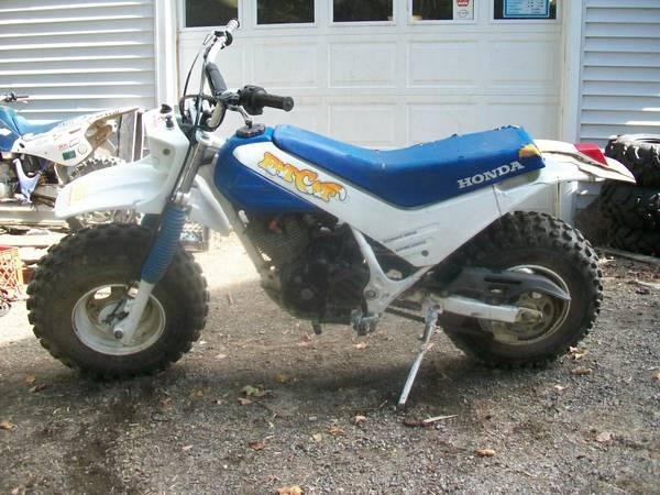 1986 honda tr 200 fat cat for sale in palmyra maine for Honda motorcycle dealers maine