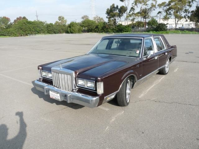 1986 Lincoln Town Car For Sale In Buena Park  California Classified