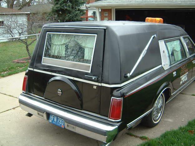 1986 Lincoln Towncar Hearse For Sale In Warren Michigan Classified