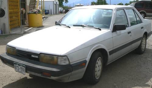 1986 Mazda 626 4 Door