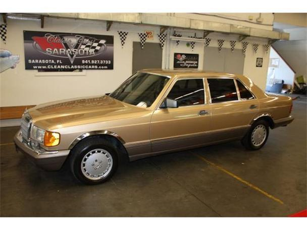 1986 Mercedes-Benz 560 for Sale in Sarasota, Florida Classified