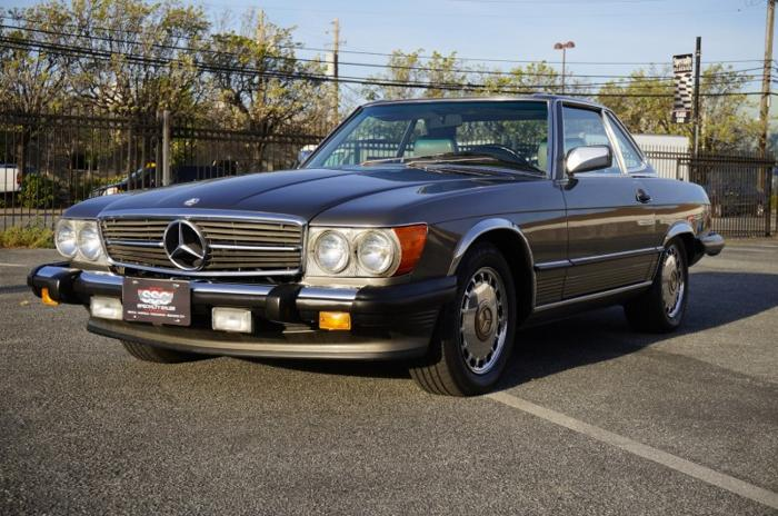 1986 mercedes benz 560 series 2dr convertible 560sl for for Mercedes benz redwood city
