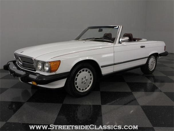 1986 mercedes benz 560sl for sale in charlotte north for Mercedes benz for sale charlotte nc