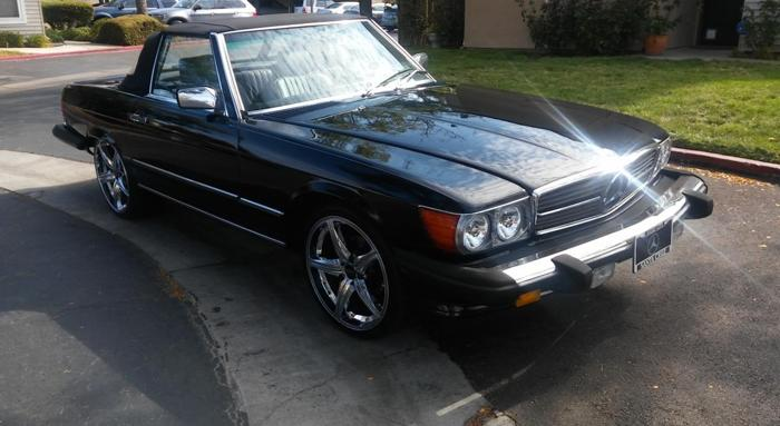 1986 mercedes benz 560sl for sale in concord california for Mercedes benz concord