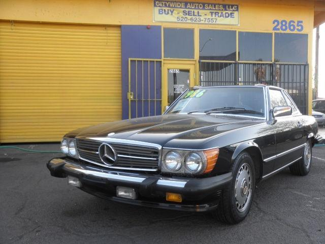 1986 mercedes benz sl class 560sl for sale in tucson for Mercedes benz tucson az