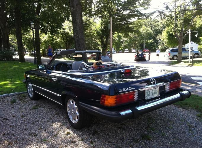 1986 Mercedez Benz 560sl For Sale In Plaistow New