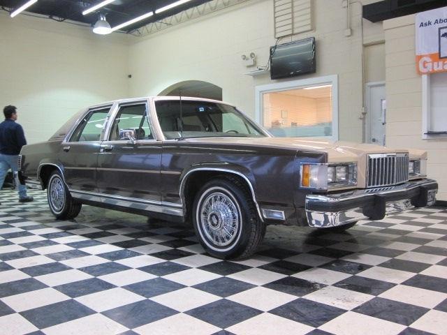 1986 Mercury Grand Marquis For Sale In Villa Park