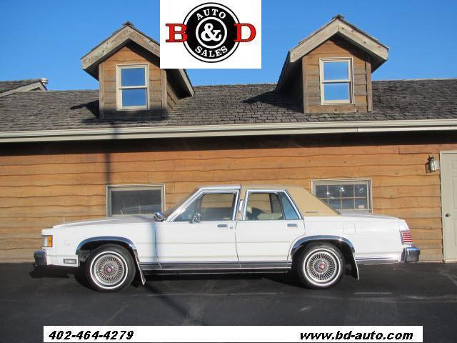 1986 mercury grand marquis for sale in lincoln nebraska classified. Black Bedroom Furniture Sets. Home Design Ideas