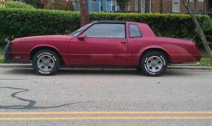 1986 Monte Carlo SS for Sale in Cincinnati, Ohio Classified