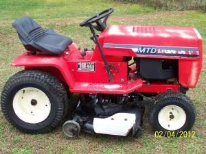 1986 Mtd 44 Quot Cut 18 Hp V Twin Hydrostat Lawn Tractor