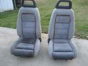 1986 mustang Gt Halo head rest front seats - $110