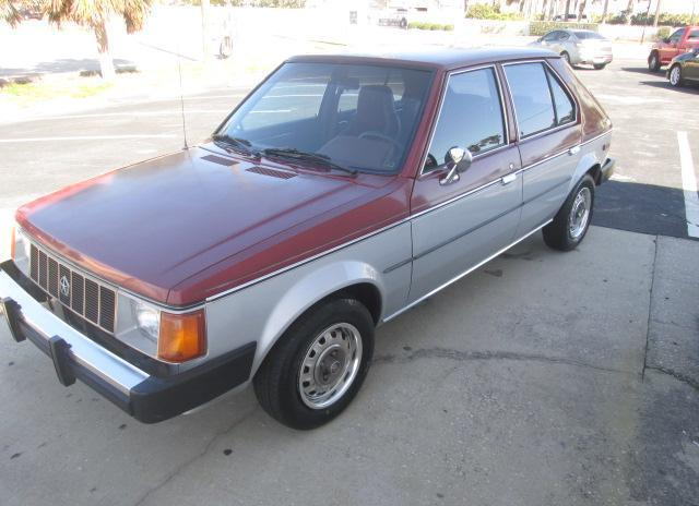 1986 Plymouth Horizon Se For Sale In Melbourne Florida