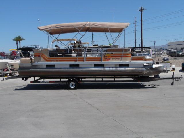 1986 Suntracker Party Barge 24 For Sale In Havasu City