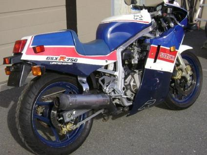 1986 Suzuki Gsxr 750 Le Gsx-R750r
