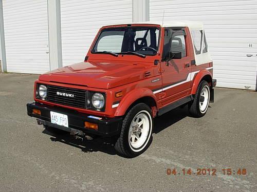 Suzuki Samurai Classifieds