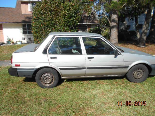 1986 toyota corolla 4 door sedan le 4 cy auto obo for sale in clearwater florida classified. Black Bedroom Furniture Sets. Home Design Ideas