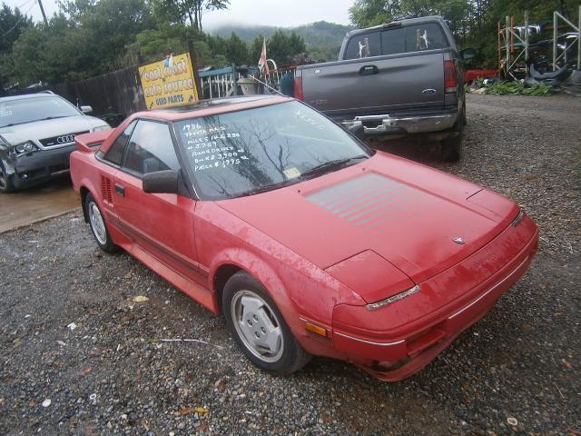 1986 toyota mr2 for sale in thaxton virginia classified. Black Bedroom Furniture Sets. Home Design Ideas
