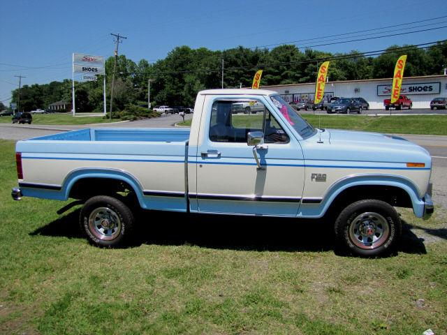 1986 ford f150 xl for sale in roanoke virginia classified. Black Bedroom Furniture Sets. Home Design Ideas