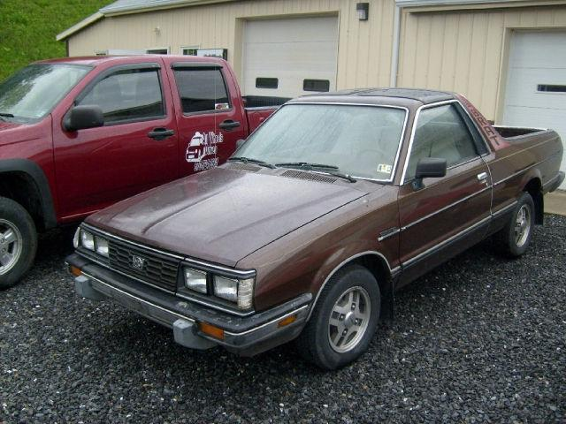 1986 subaru brat gl 4wd for sale in wellsboro. Black Bedroom Furniture Sets. Home Design Ideas