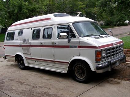 1987 19 Ft Dodge Ram Xtravan Explorer Camper Van For