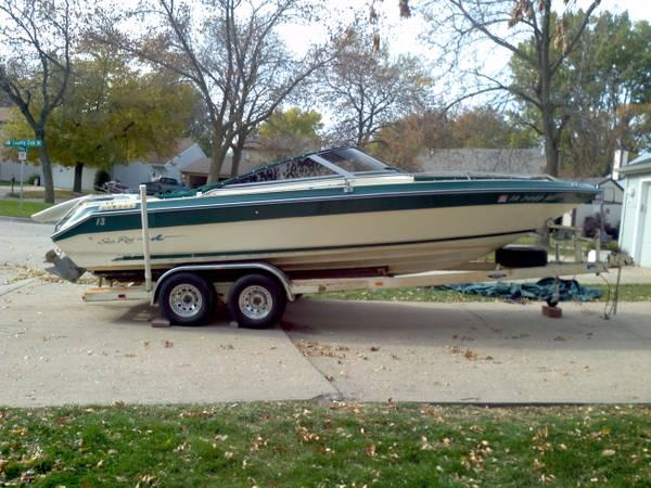 1987 23 FT SEA RAY BOAT TRAIL RITE TRAILER - $6500
