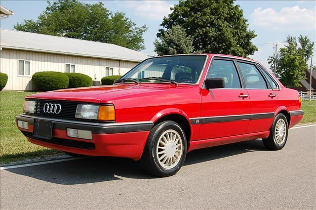 1987 audi 4000 s for sale in powell ohio classified. Black Bedroom Furniture Sets. Home Design Ideas