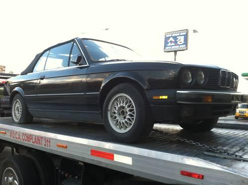1987 BMW 325i Convertible ultra low miles 16,442 miles