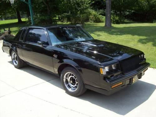 1987 buick grand national for sale in dalton indiana classified. Cars Review. Best American Auto & Cars Review